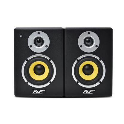 AVE Fusion 4 Inch Studio Monitor Pair - Front