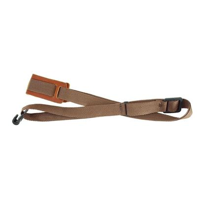 LM LMX241 1in Poly Webbing Ukuele Strap in Brown