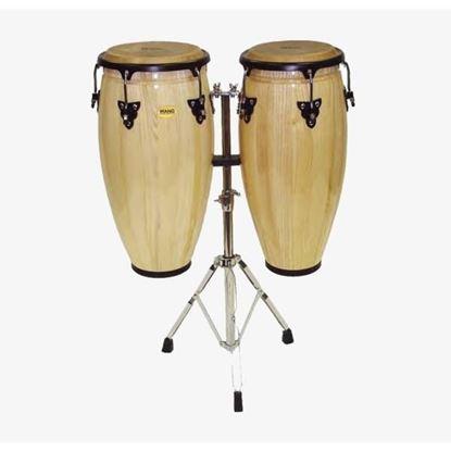 Mano Percussion MP1601NA Conga Set of 10inch & 11inch - Natural