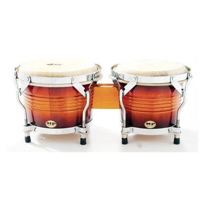 Mano Percussion MP1778SB 7 & 8in Bongos in Sunburst