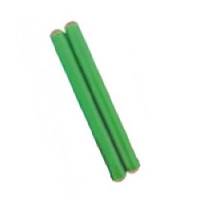 Mano Percussion UE787GR 7inch Coloured Hardwood Claves - Green