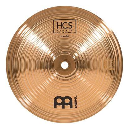 "Meinl HCSB-8BL HCS Bronze 8"" Low Bell - Front"