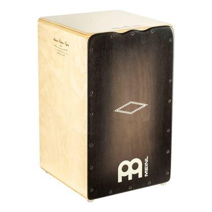 Meinl CJ-AESLEYB Artisan Cajon Solea Line with Ebony Burst Frontplate