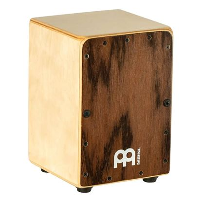 Meinl CJ-MC1DE Mini Cajon with Dark Eucalyptus Frontplate - Front