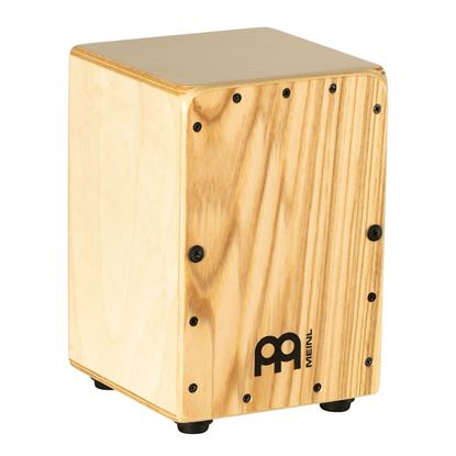 Meinl CJ-MC1HA Mini Cajon with Heart Ash Frontplate - Front