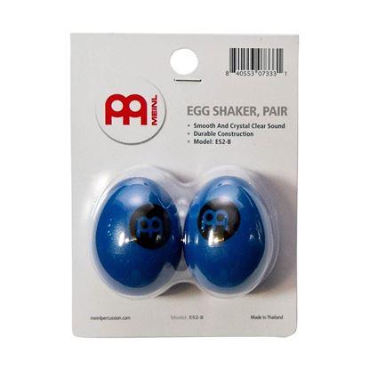 Meinl ES2-B Egg Shaker in Blue (Pair)