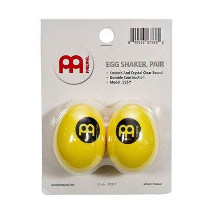 Meinl ES2-Y Egg Shaker in Yellow (Pair)