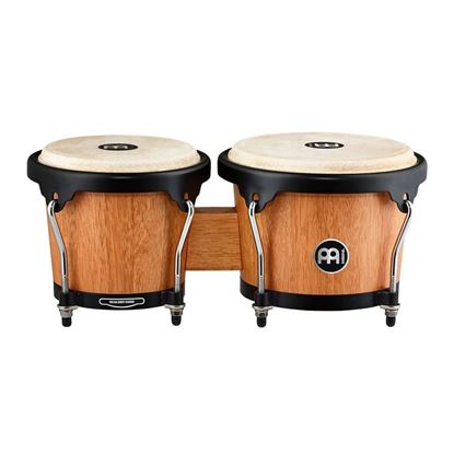 Meinl HB100SNT-M 6 3/4 & 8in Headliner Series Wood Bongos in Super Natural