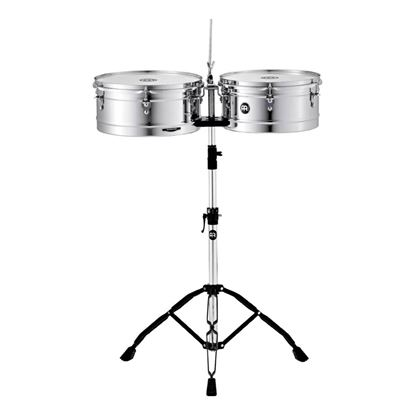 Meinl HT1314CH 13 & 14in Timbales in Chrome Finish