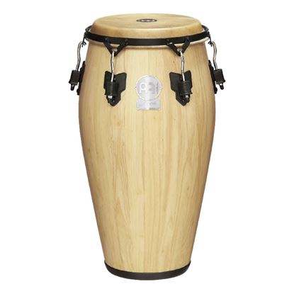 Meinl LC1134NT-M 11 3/4in M Artist Series Luis Conte Series Conga in Natural with True Skin Buffalo Head