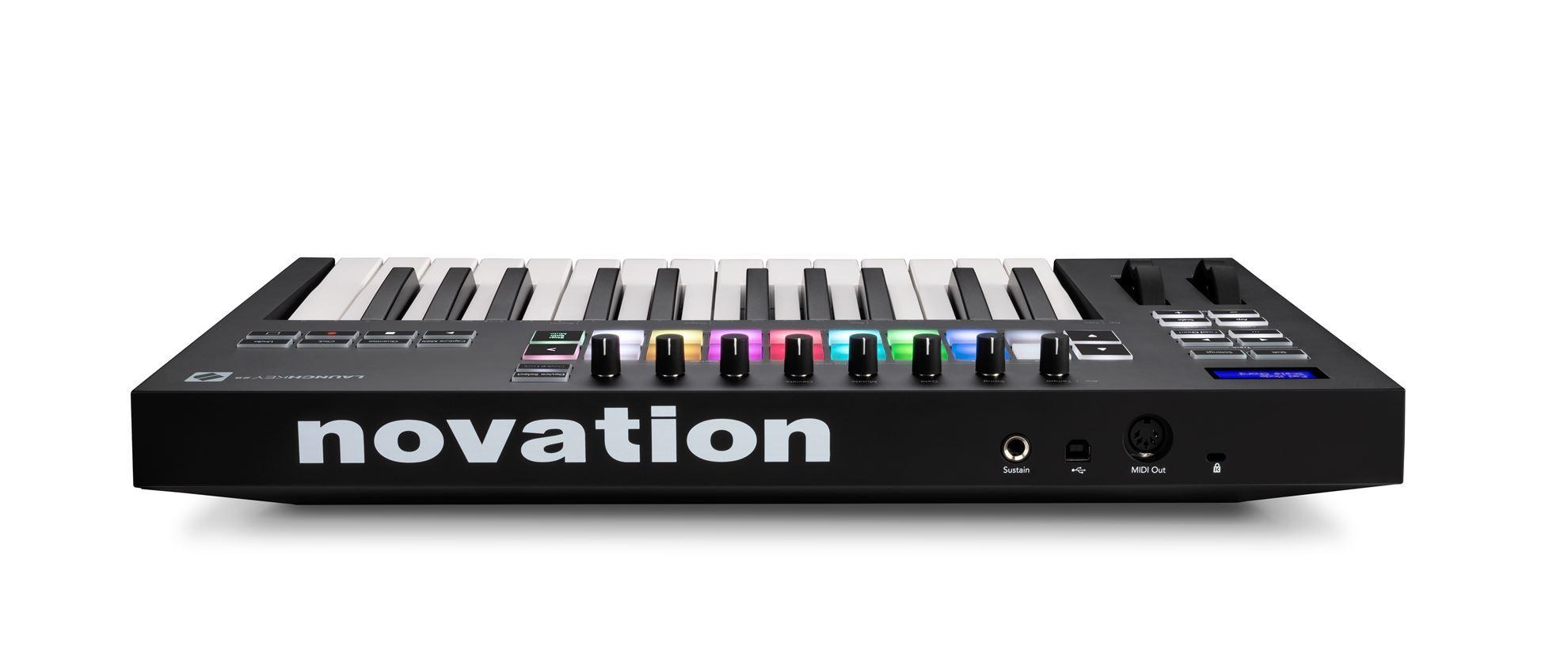 Novation Launchkey Mk3 25-Note Keyboard - Rear