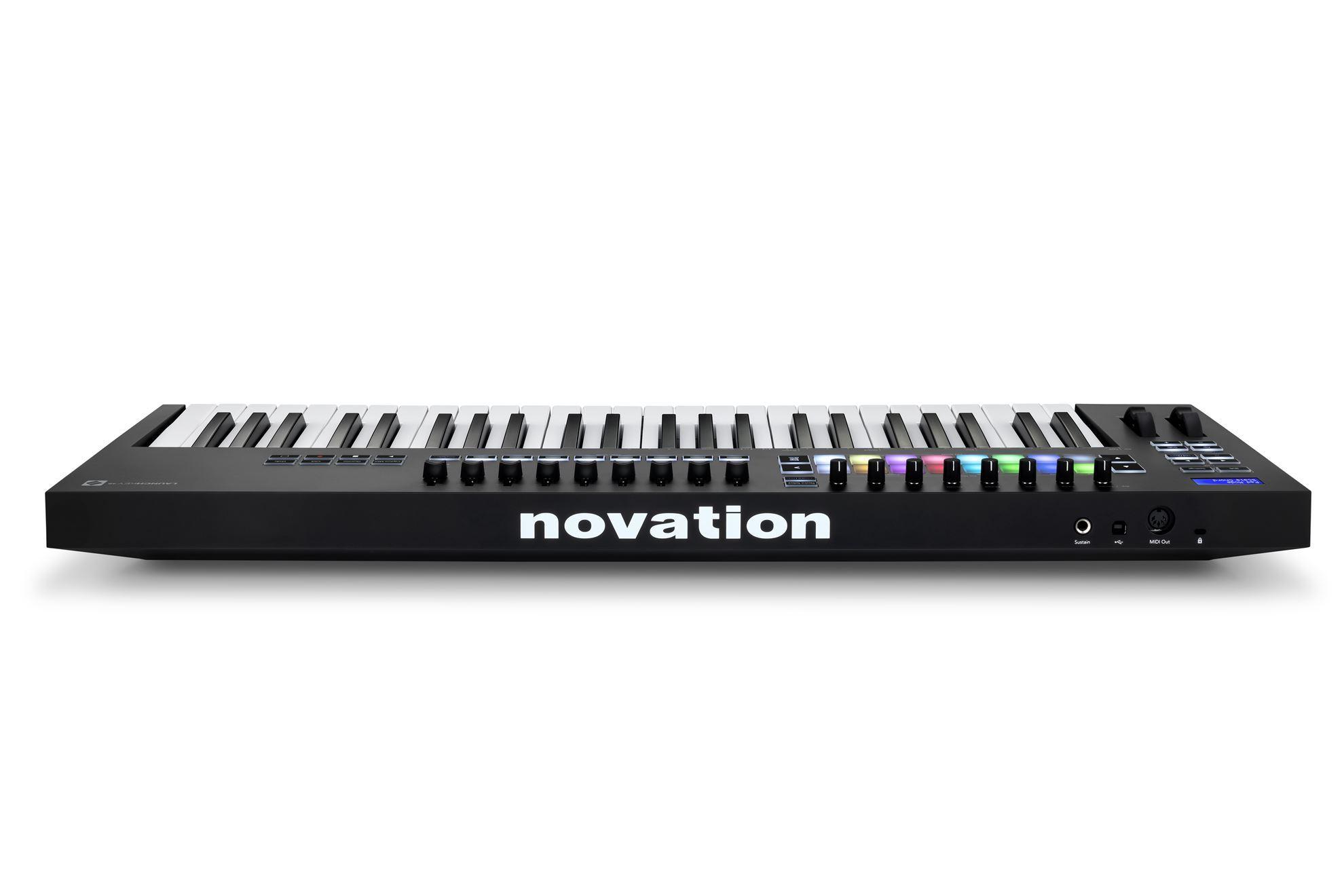 Novation Launchkey Mk3 49-Note Keyboard - Rear