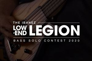 Win an Ibanez Bass Guitar with the Ibanez Low-End Legion Bass Solo Contest 2020.