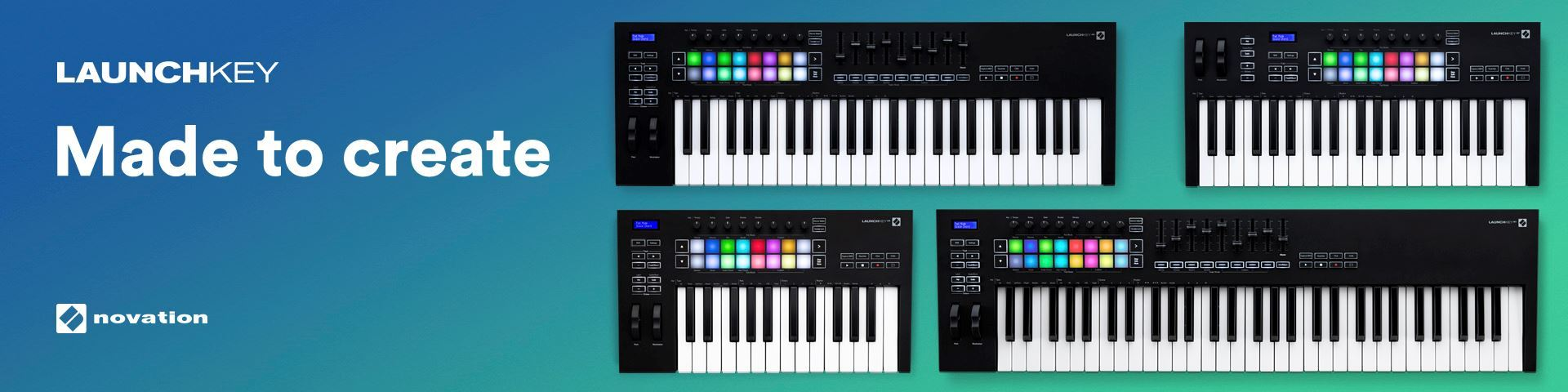 The new Novation Launchkey Mk 3 - Pre-Order today!