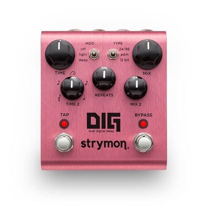 Strymon DIG Dual Digital Delay Guitar Effects Pedal