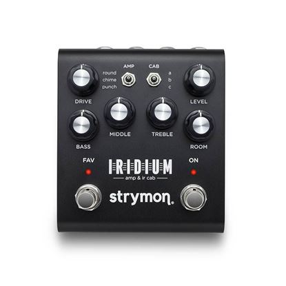 Strymon Iridium Amp and IR Cab Simulator Guitar Effects Pedal