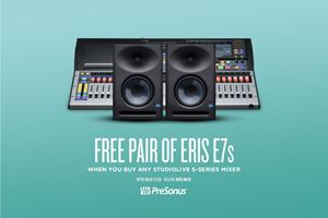 FREE E7XT's WITH DIGITAL MIXER PURCHASE