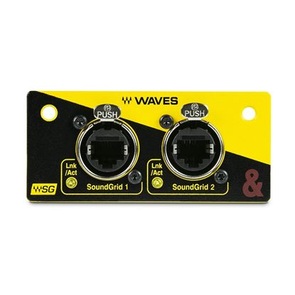 Allen & Heath SQ WAVES V3 Audio Interface Mod SQ Series Mix - Front