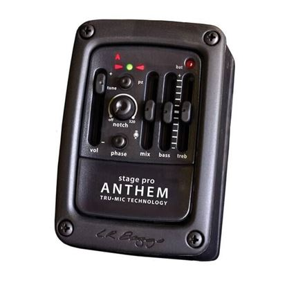 LR Baggs ANTHSTAGE Anthem Stagepro Acoustic Guitar Pickup and Microphone