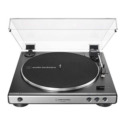 Audio Technica LP60XUSB Fully Automatic Belt-Drive Stereo Turntable (Analog & USB) in Gun Metal - Front