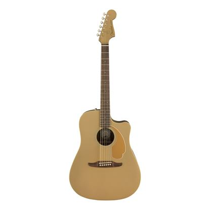 Fender California Redondo Player Acoustic Guitar in Bronze Satin - Front