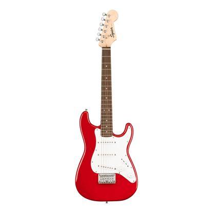 Squier Mini Stratocaster Electric Guitar with Laurel Fretboard in Dakota Red