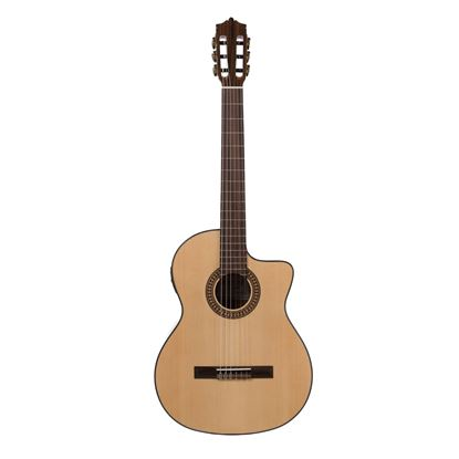 Katoh MCG20CEQ Classical Cutaway Guitar - Front