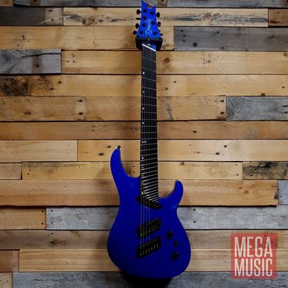 Ormsby Reissue SX 7-String Electric Guitar in Rally Blue - Front
