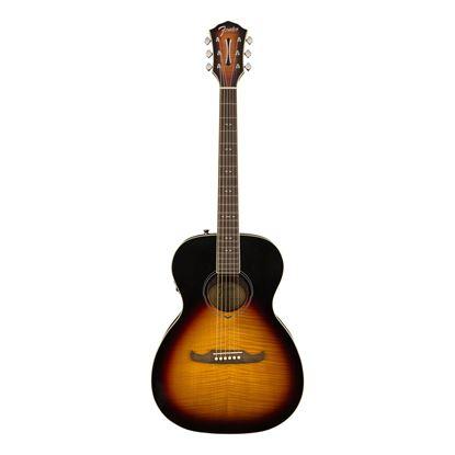 Fender FA-235E Concert Acoustic Guitar 3-Tone Sunburst - Front