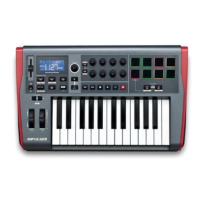 Novation Impulse 25 Note USB/Midi Controller Keyboard - Top