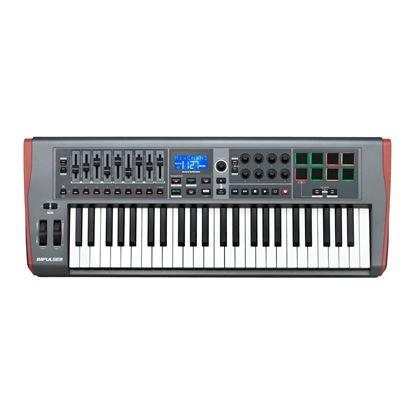Novation Impulse 49 Note USB/Midi Controller Keyboard - Top