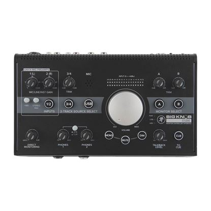 Mackie Big Knob Studio Monitor Controller - Top
