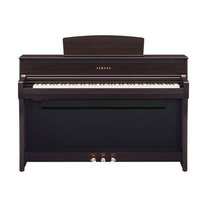 Yamaha CLP775 Clavinova Digital Piano with Bench in Rosewood - Front