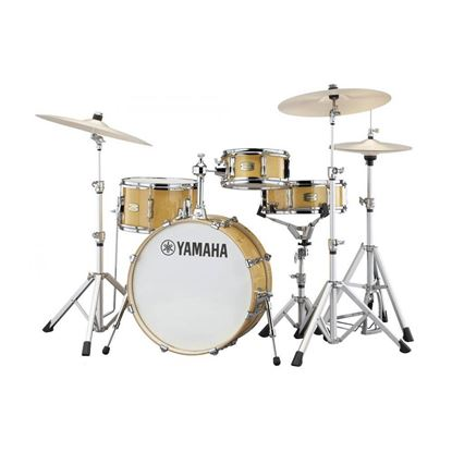 Yamaha CTHIP Stage Custom Hip 4-Piece Drum Kit with 20in Bass Drum plus Crosstown Hardware in Natural Wood