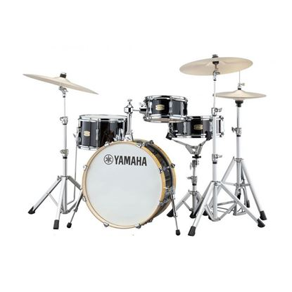 Yamaha CTHIP Stage Custom Hip 4-Piece Drum Kit with 20in Bass Drum plus Crosstown Hardware in Raven Black