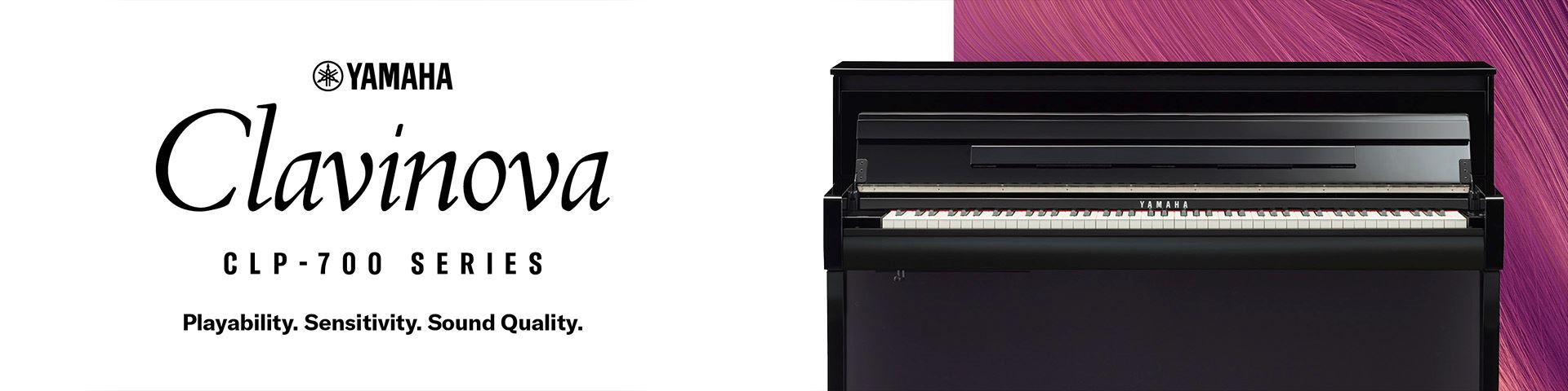 Introducing the exciting CLP-700 Series Clavinova Digital Piano