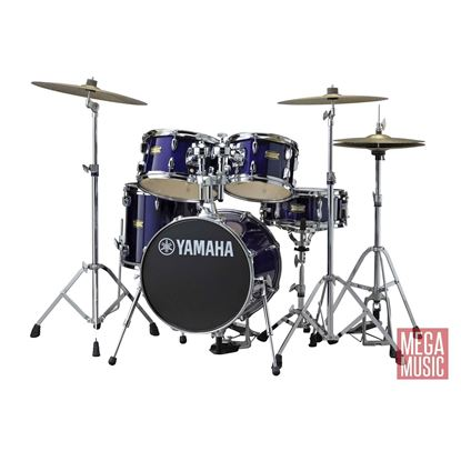 Yamaha CTJR Manu Katche Junior Drum Kit with 16in Bass Drum plus Crosstown Hardware in Deep Violet