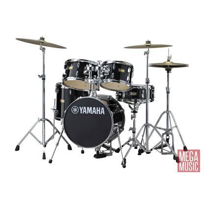 Yamaha CTJR Manu Katche Junior Drum Kit with 16in Bass Drum plus Crosstown Hardware in Raven Black