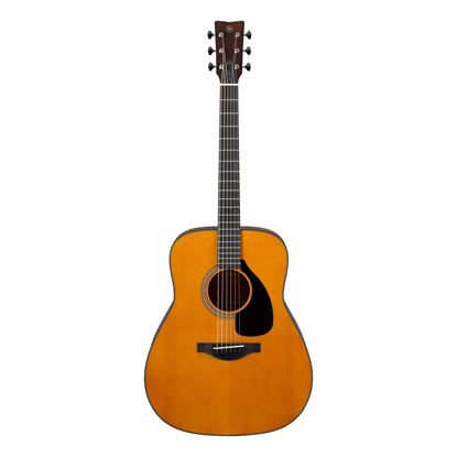 Yamaha FG3 Red Label Dreadnought Acoustic Guitar in Vintage Natural - Front