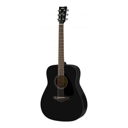 Yamaha FG800 Dreadnought Acoustic Guitar with Solid Spruce Top in Black