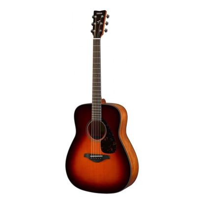 Yamaha FG800 Dreadnought Acoustic Guitar with Solid Spruce Top in Brown Sunburst