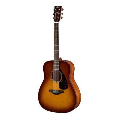 Yamaha FG800 Dreadnought Acoustic Guitar with Solid Spruce Top in Sandburst