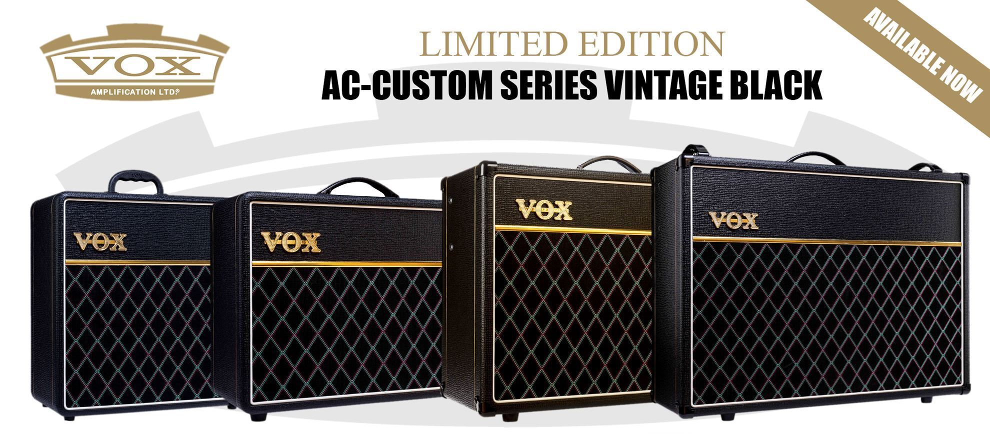 Limited Edition AC Custom Series - Vintage Black