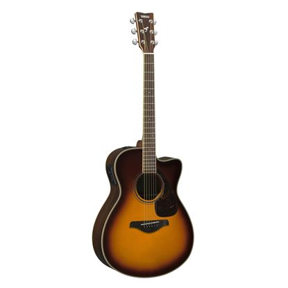 Yamaha FSX830C Dreadnought Acoustic Guitar with Solid Spruce Top in Brown Sunburst
