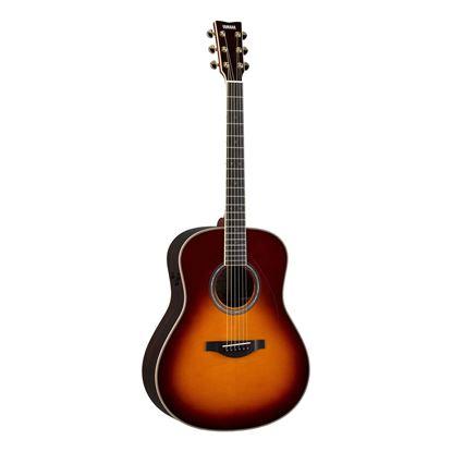 Yamaha LL16TA TransAcoustic Dreadnought Acoustic Guitar in Brown Sunburst