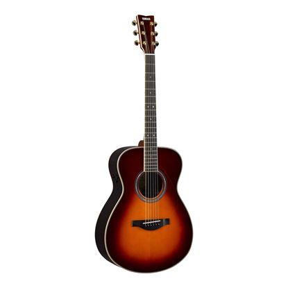 Yamaha LS16TA TransAcoustic Concert Size Acoustic Guitar in Brown Sunburst