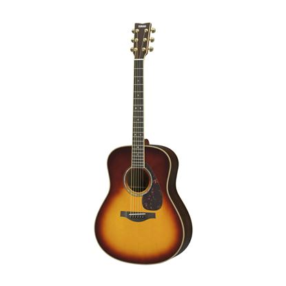 Yamaha LS16 Small Body Acoustic Guitar with Rosewood Back & Sides in Brown Sunburst