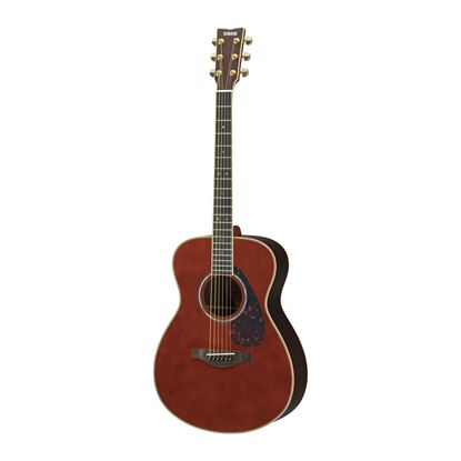 Yamaha LS16 Small Body Acoustic Guitar with Rosewood Back & Sides in Dark Tinted Natural