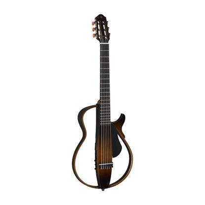 Yamaha SLG200N Nylon Silent Guitar in Tobacco Brown Sunburst
