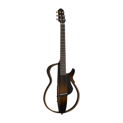 Yamaha SLG200S Steel Silent Guitar in Tobacco Brown Sunburst
